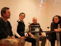 Peter Matzold, Franziska Schruth, Eugen Hein und Sabine Christian