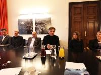 Rüdiger Lainer, Christoph Pichler, Much Untertrifaller, Siegfried Nagl, Marta Schreieck und Patricia Zacek-Stadler...