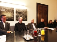 ... bei der Pressekonferenz im Grazer Rathaus.