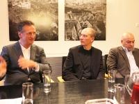 Rüdiger Lainer, Christoph Pichler und Much Untertrifaller