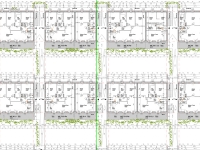 Planausschnitt Einreichplan, 2. Obergeschoss