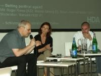 Michael Zinganel, Petra Ceferin, Markus Miessen