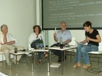 Zvi Hecker, Francesca Ferguson, Michael Sorkin, Ute Woltron