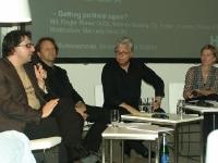 Srdjan Jovanovič Weiss, Roger Riewe, Werner Sewing, Manuela Hötzl, Fotos - M. Brischnik